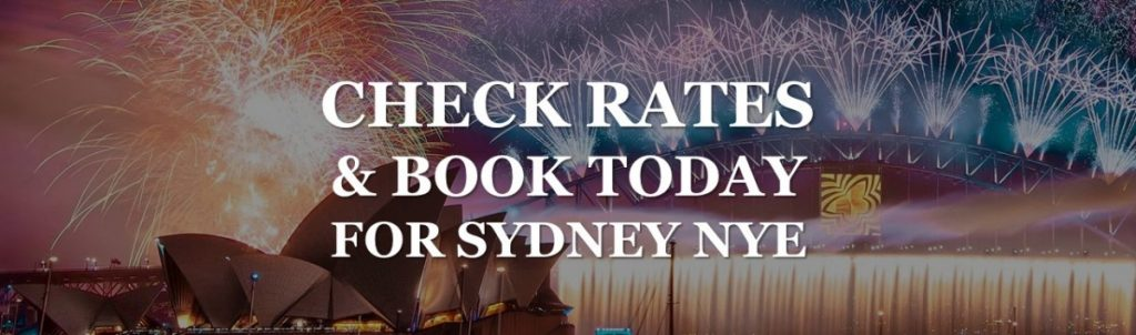 book cheapest rates for Sydney NYE packages in The Rocks at The Russell Boutique Hotel