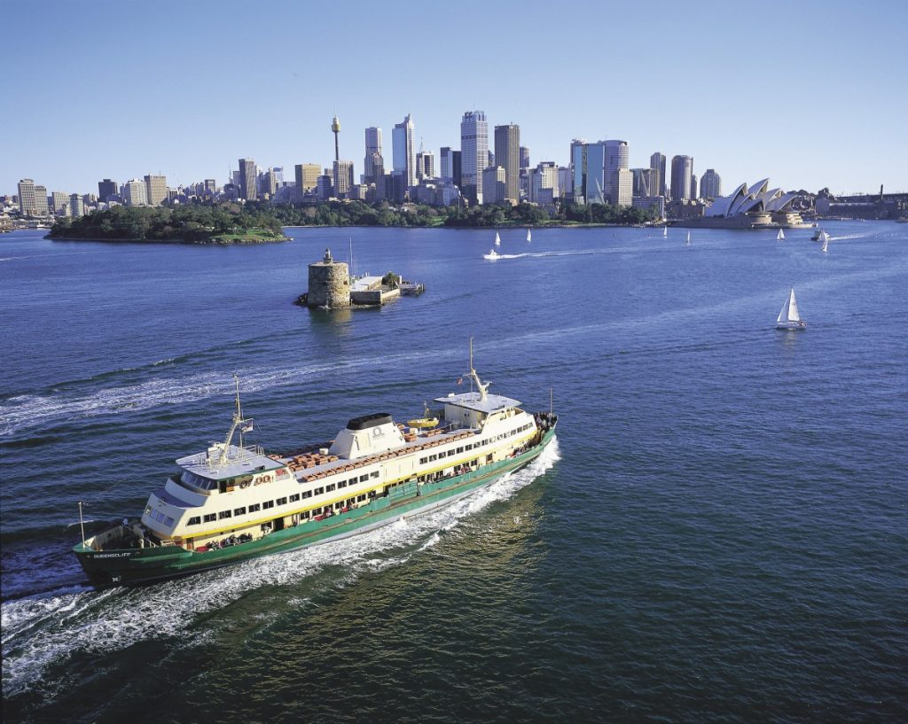 Iconic Sydney Ferry Manly Beach Accommodation